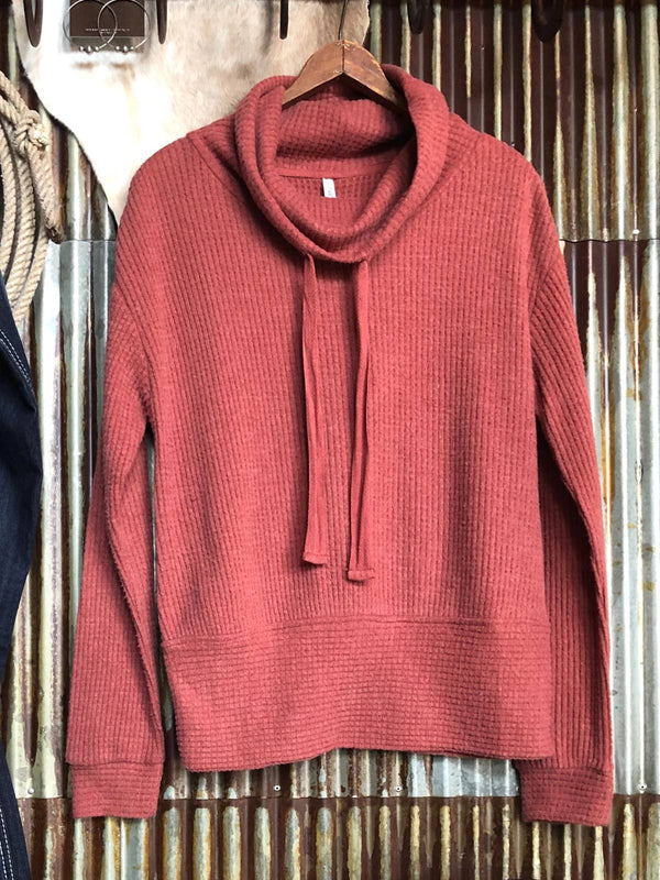 Red Long Sleeve Vintage Plus Size Sweatshirt
