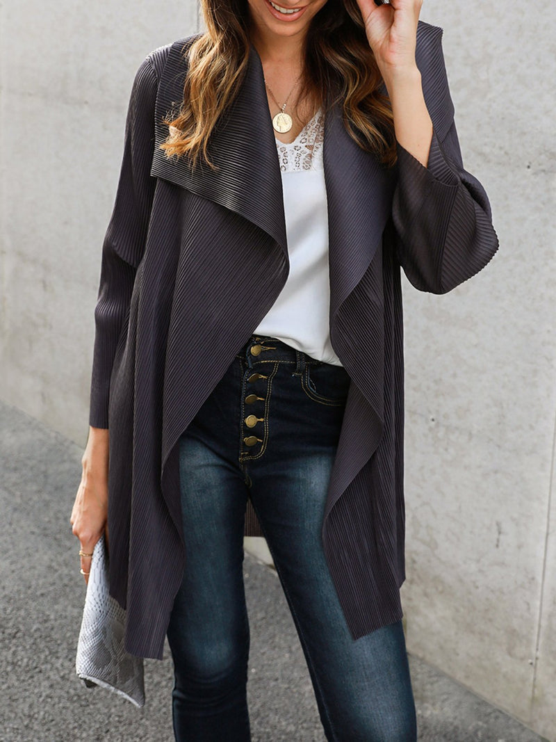 Shawl Collar Holiday Outerwear