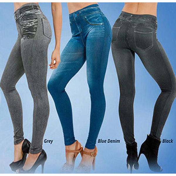 Fashion Mid Waist Leggings
