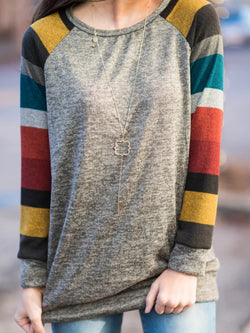 Ombre/tie-Dye Casual Tops