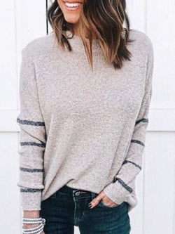 Cotton-Blend Casual Long Sleeve Shirts