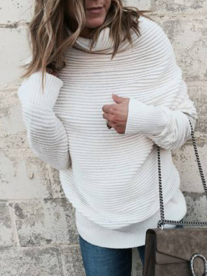Turtleneck Casual Sweater