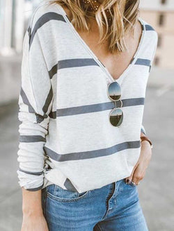 Cotton-Blend Round Neck Casual Shirts