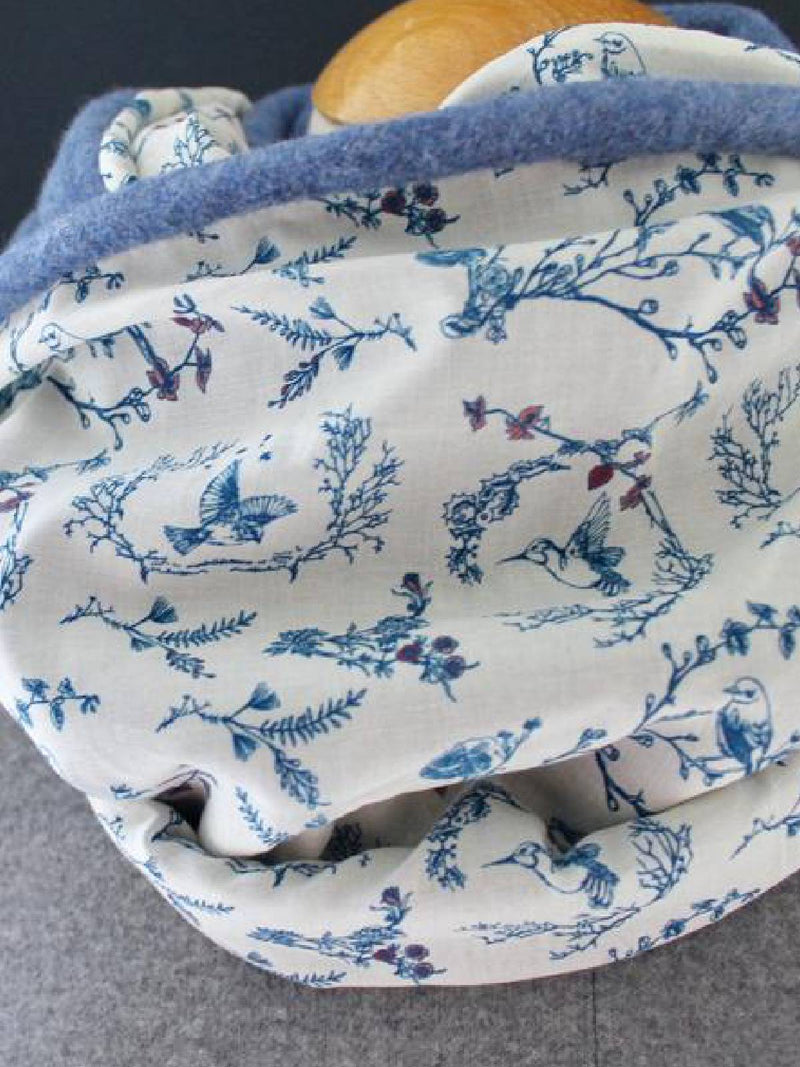 Floral-Print Casual Scarves & Shawls