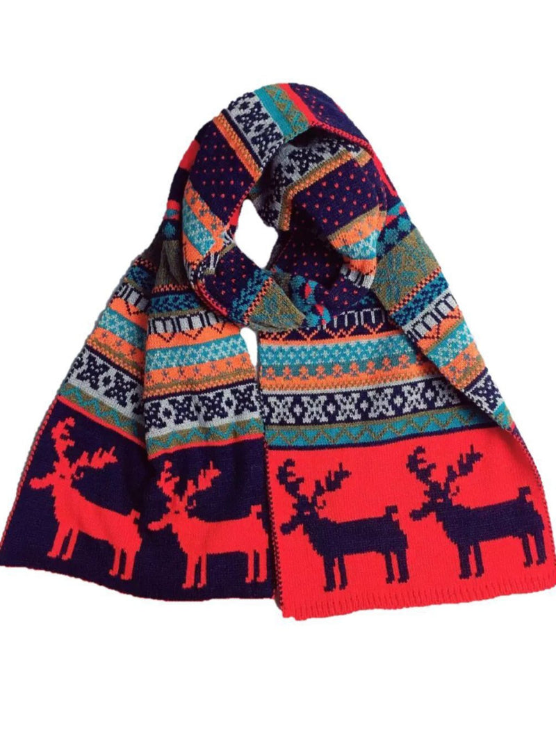 Christmas Decoration Knitted Scarves & Shawls