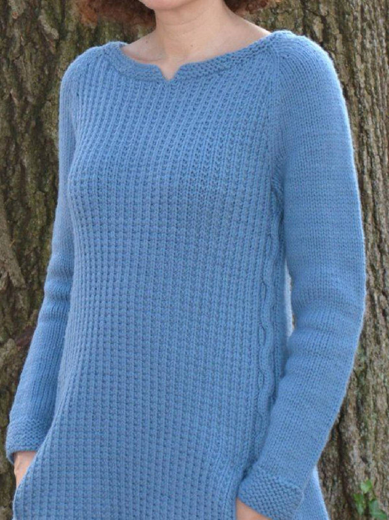 Plus Size Casual Round Neck Sweater