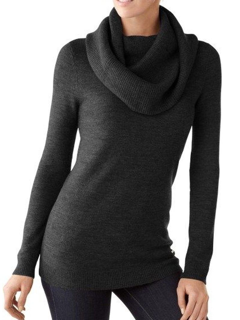 Casual Solid Long Sleeve Sweater