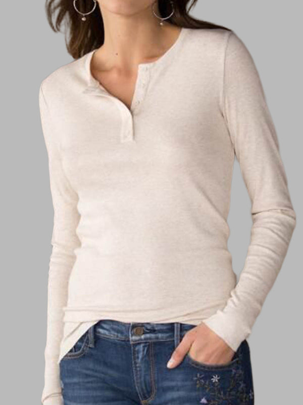 White Long Sleeve Modal Shirts & Tops