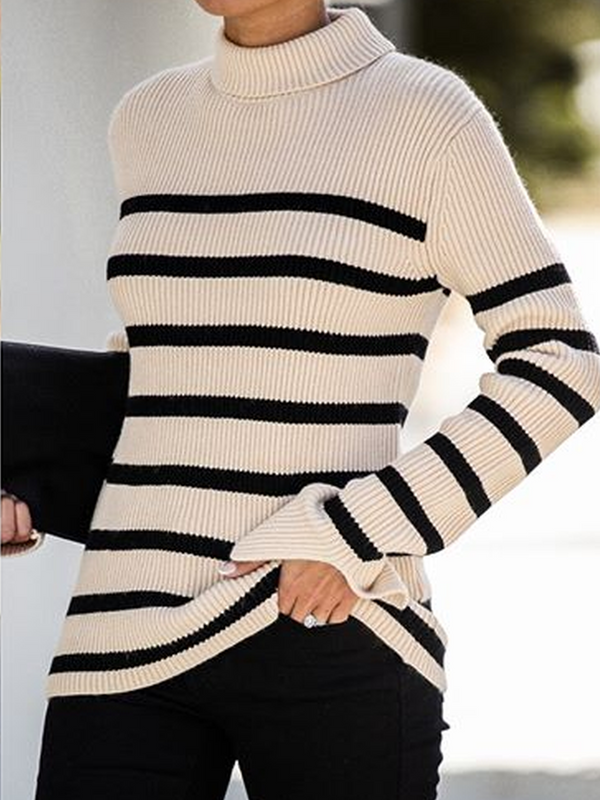 Stripes Casual Sweater
