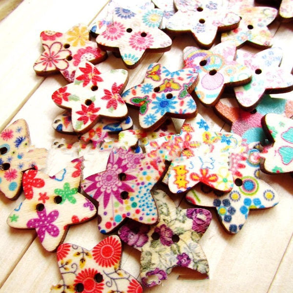 100 Pcs As Picture Wood Home & Garden