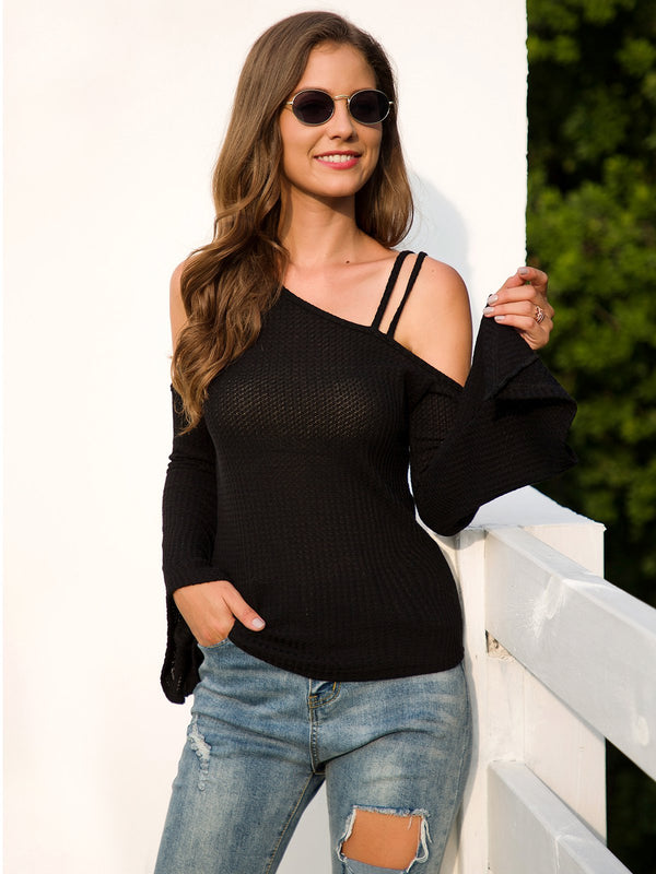 Casual Off Shoulder Shirts & Tops