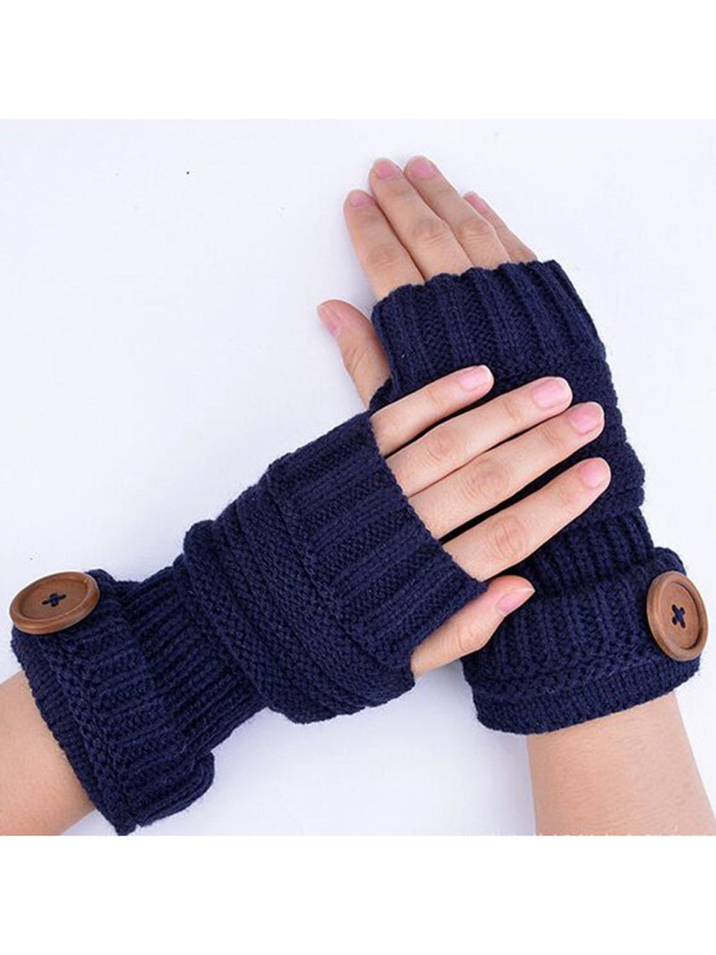 Womens Knitted Casual Gloves