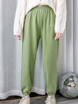 Autumn winter plus size home pants Cotton Pants