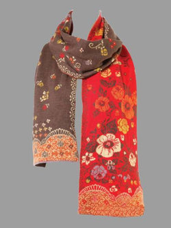 Floral Cotton-blend Scarves