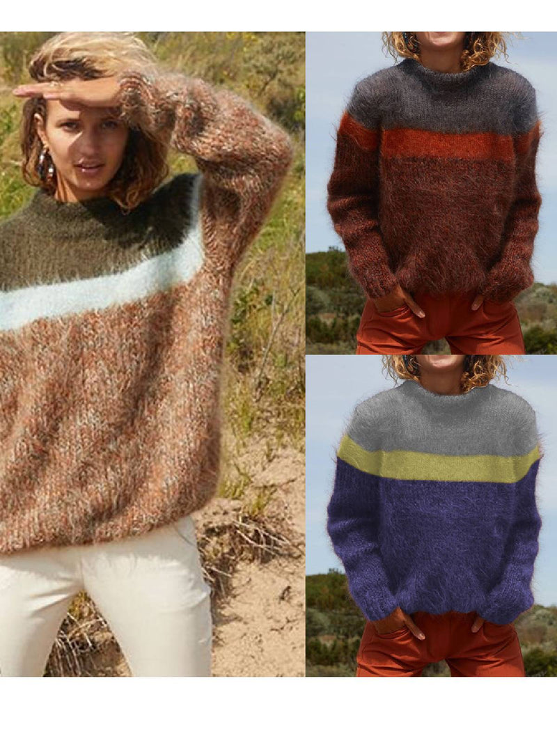 Long Sleeve Casual Knitted Sweater