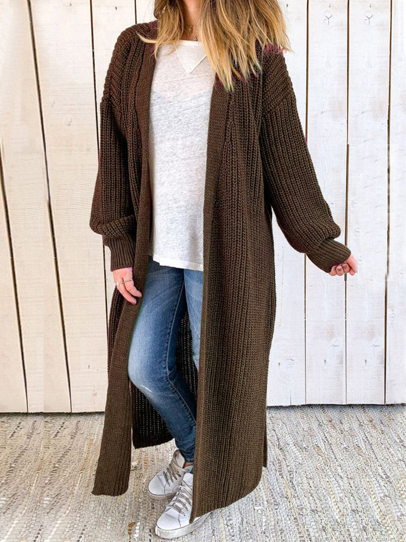 Casual Pockets plus size Outerwear