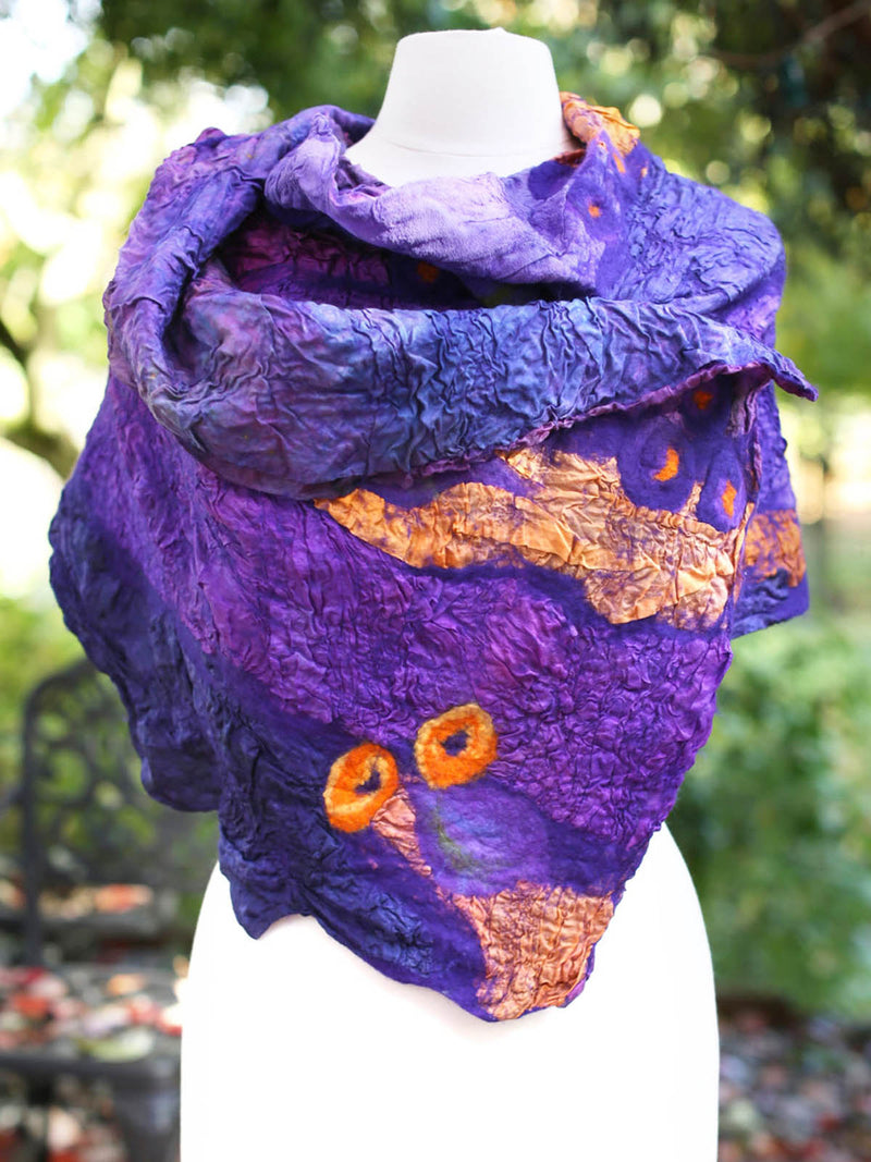 Ombre/tie-Dye Casual Cotton Knitted Scarves & Shawls