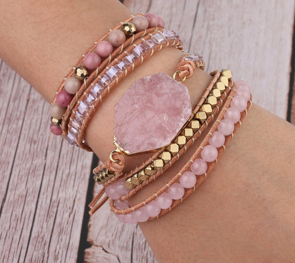 Naked Pink Sweet Alloy Bracelets