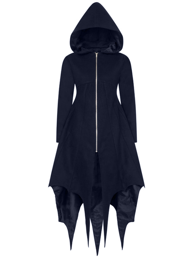 Gothic irregular plus size Casual Outerwear