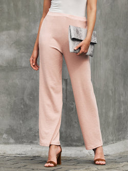 Women Knitted Daily Casual Pants