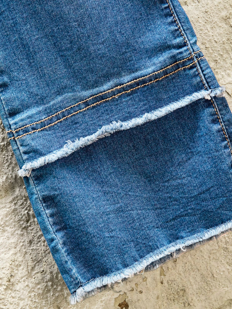 Denim Pants low rise jeans