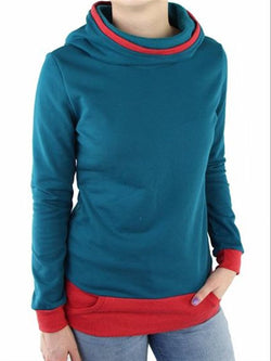 Vintage Casual Basic Daily Crew neck Long Sleeve Top