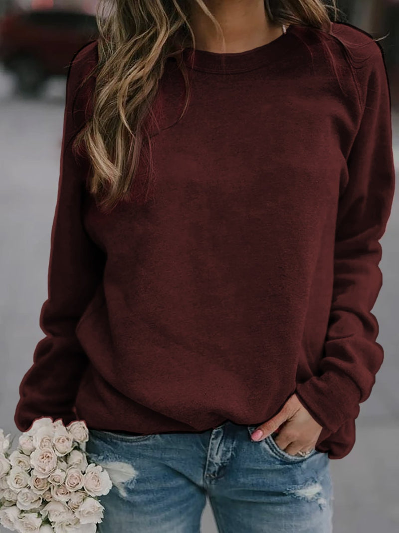 Long Sleeve Cotton-Blend Shirts & Tops