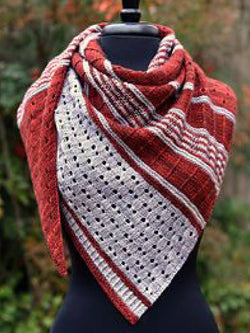 Red Casual Color-Block Scarves & Shawls