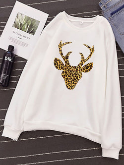 Plus size Animal Casual Shirts & Tops