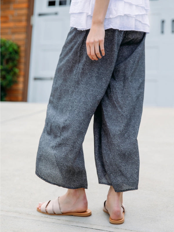 Soft Comfortable Casual Wide Leg Pants