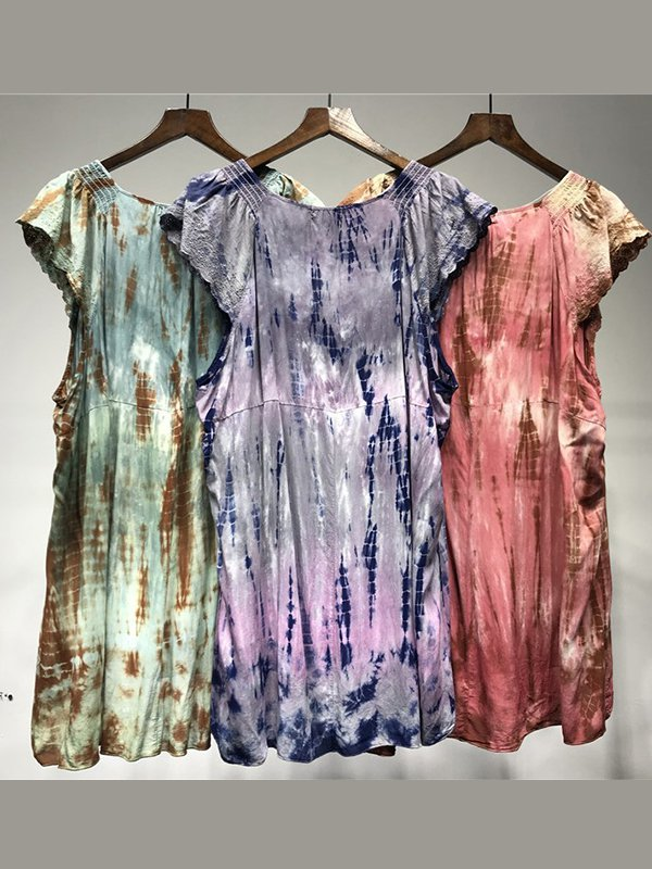Women's  Casual Round Neck   Short Sleeve T-Shirt & Tops