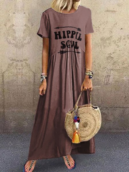 Crew Neck Women  Shift Beach Cotton-Blend Shift Leather-paneled Dresses