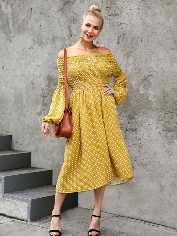 Polka Dots Simple Dresses