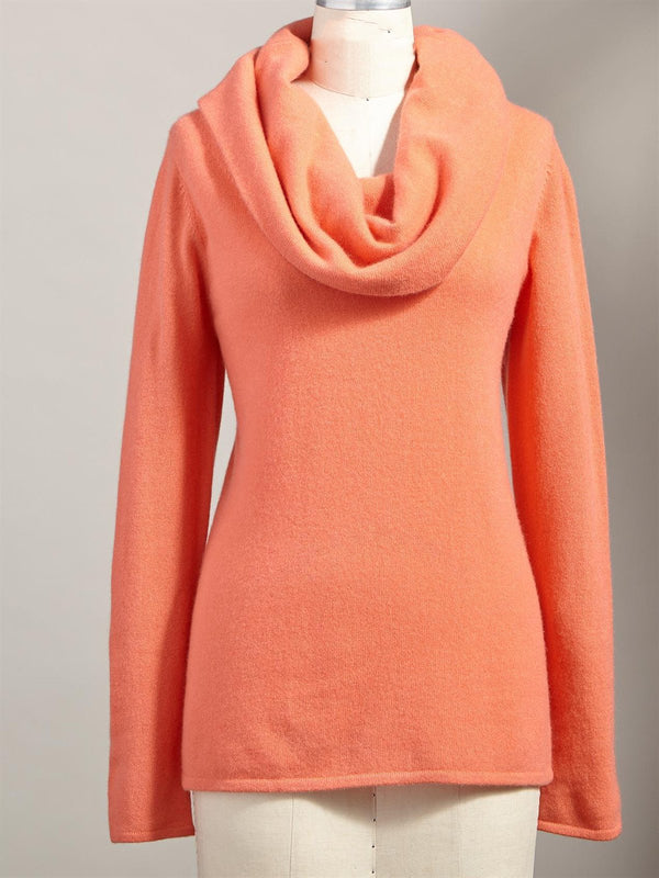Wool Long Sleeve Solid Casual Sweater