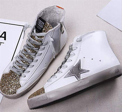 Sparkling Glitter Autumn/Winter Daily Sneakers