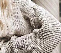 Shift Casual Knitted Solid Sweater