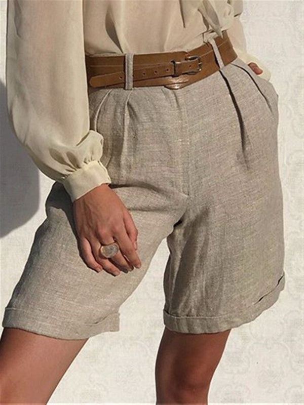 Casual Basic Daily Gentle Classic Shorts