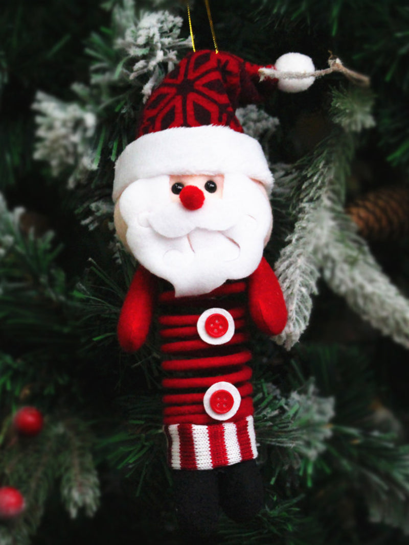 Xmas Santa Snowman Deers Doll Christmas Decorations Gift Ornaments