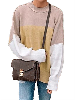 Autumn Winter Casual Basic Plus Size Knitted Sweater