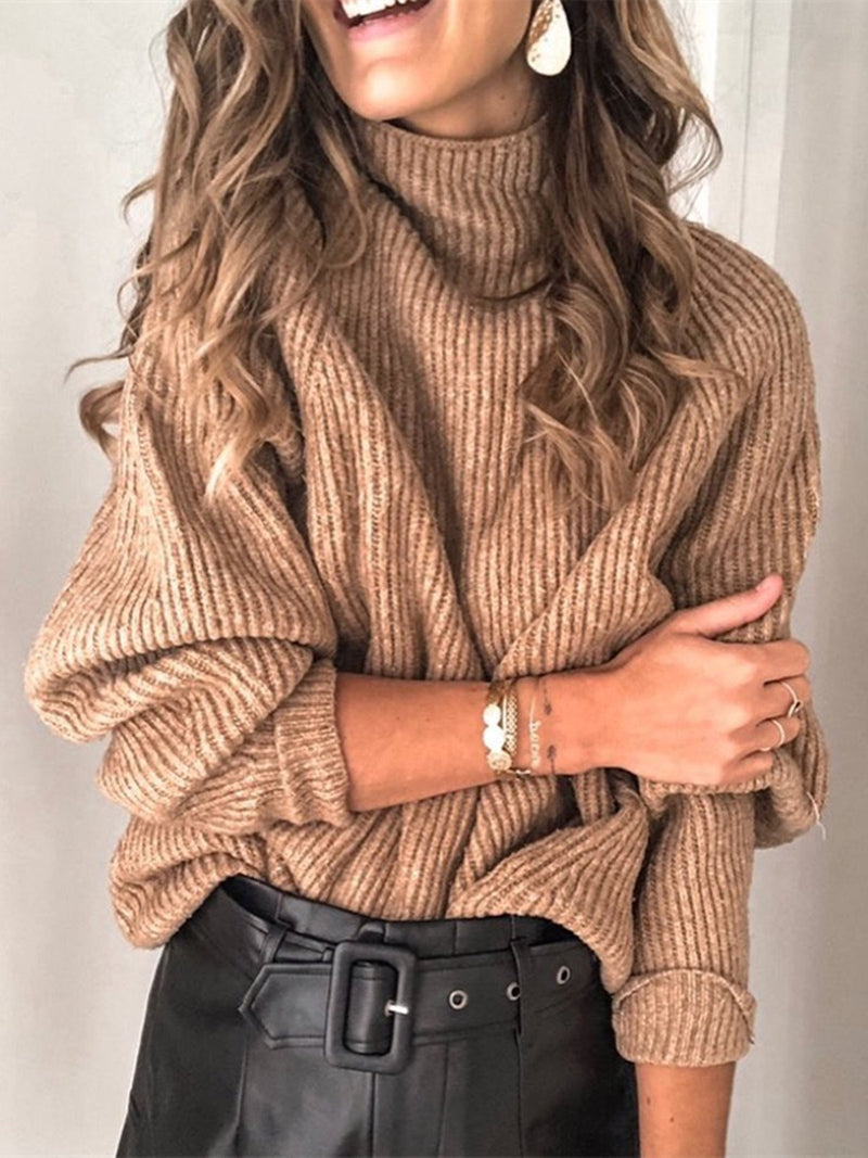 Casual Knitted Shirts & Tops