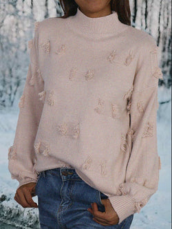 Cotton Round Neck Long Sleeve Shirts & Tops