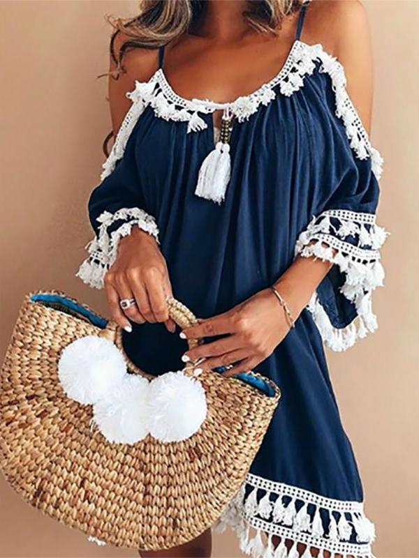 Bohemian Casual Plus Size Dress