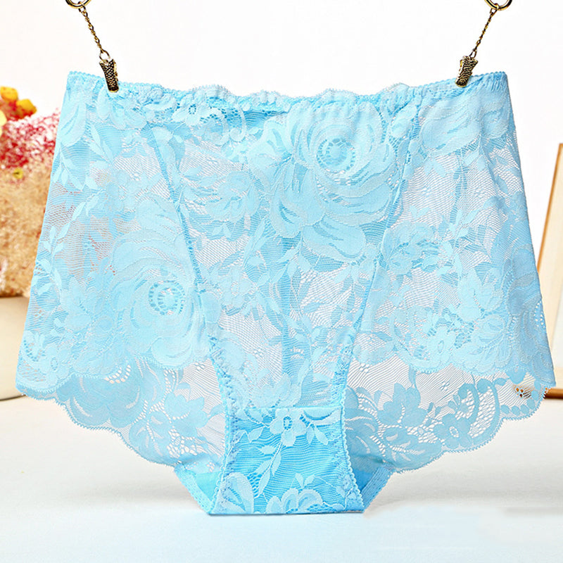 High Waist  Lace  Panties