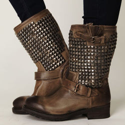 Leatherette Holiday Boots
