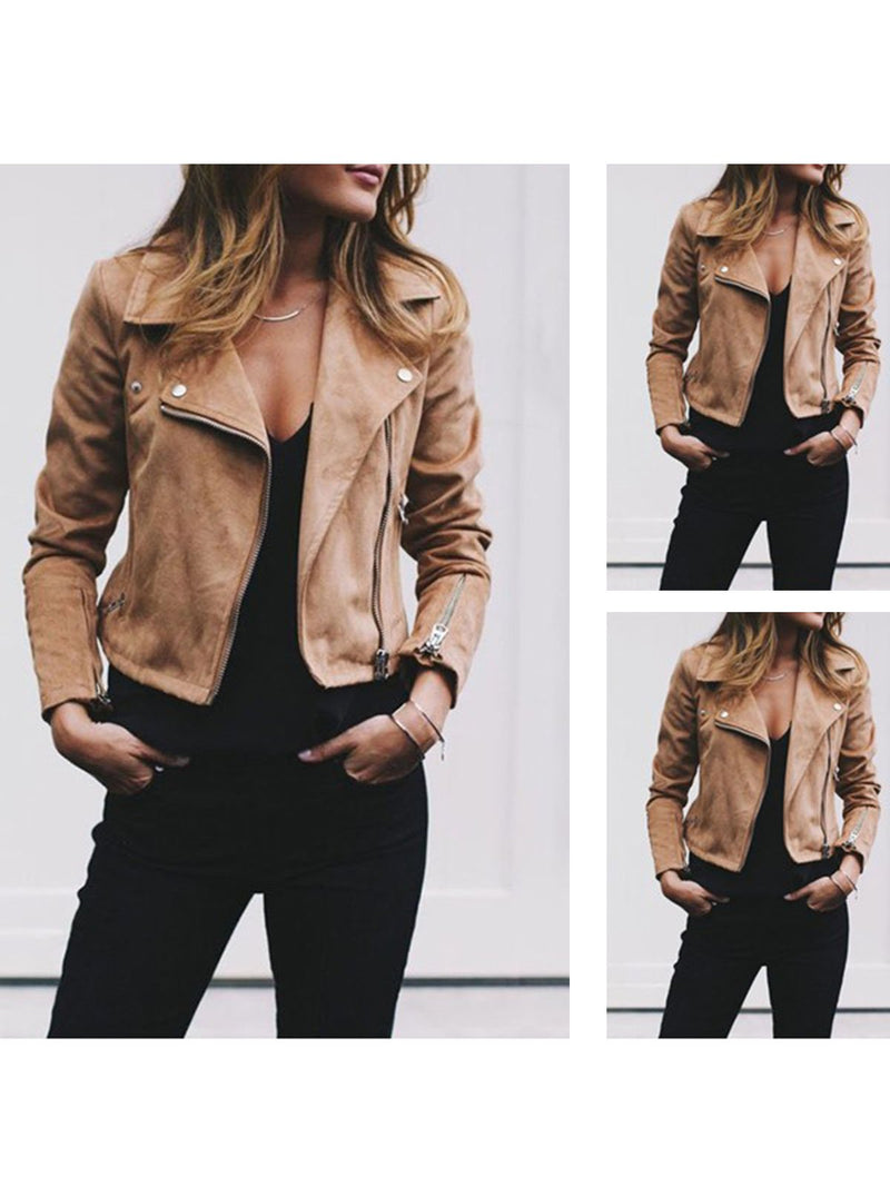 Casual Shawl Collar Bomber Jacket
