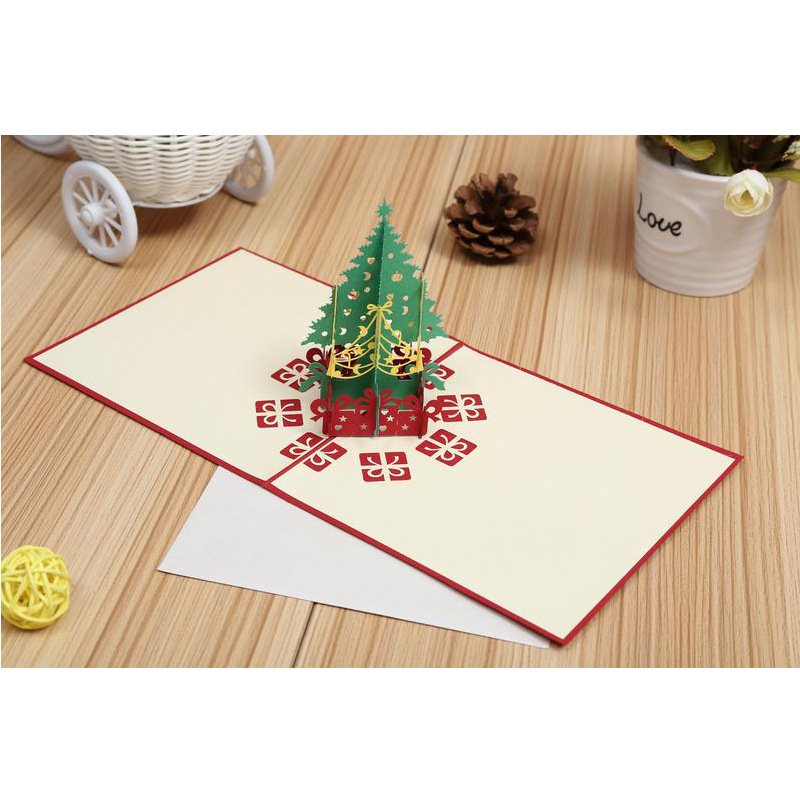 Christmas 3D Greeting Card