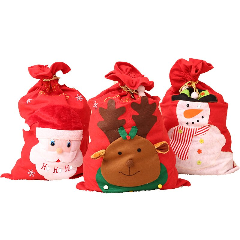 Christmas oversized candy bag