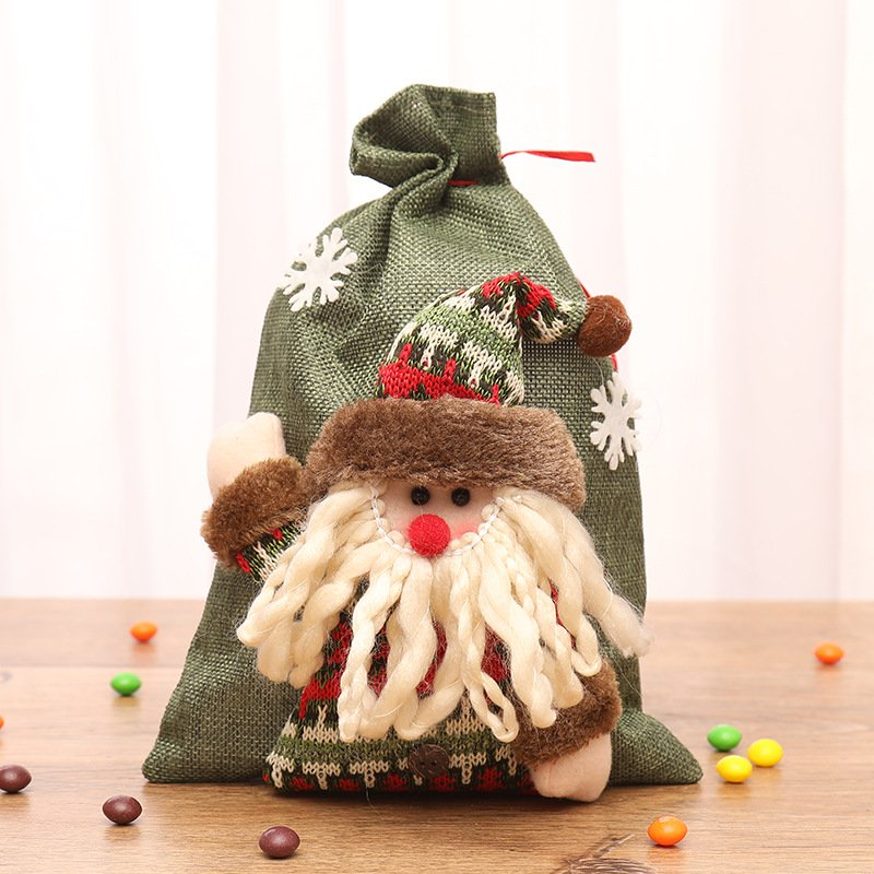 Christmas candy blessing bag