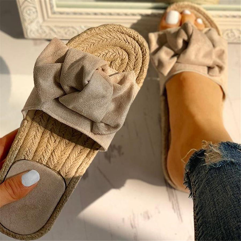 Summer Daily Flat Heel Slippers