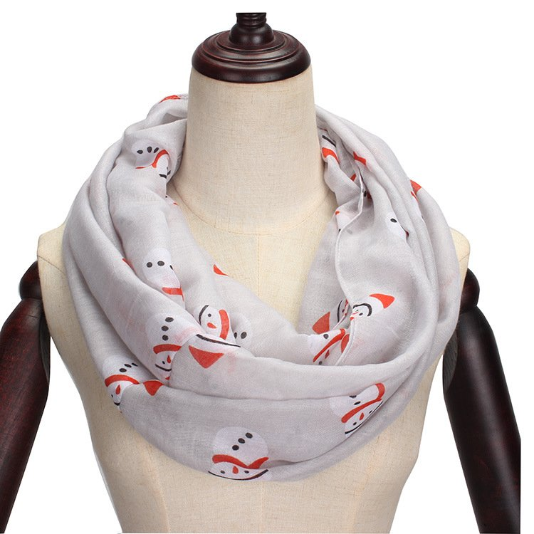 Christmas Scarves & Shawls